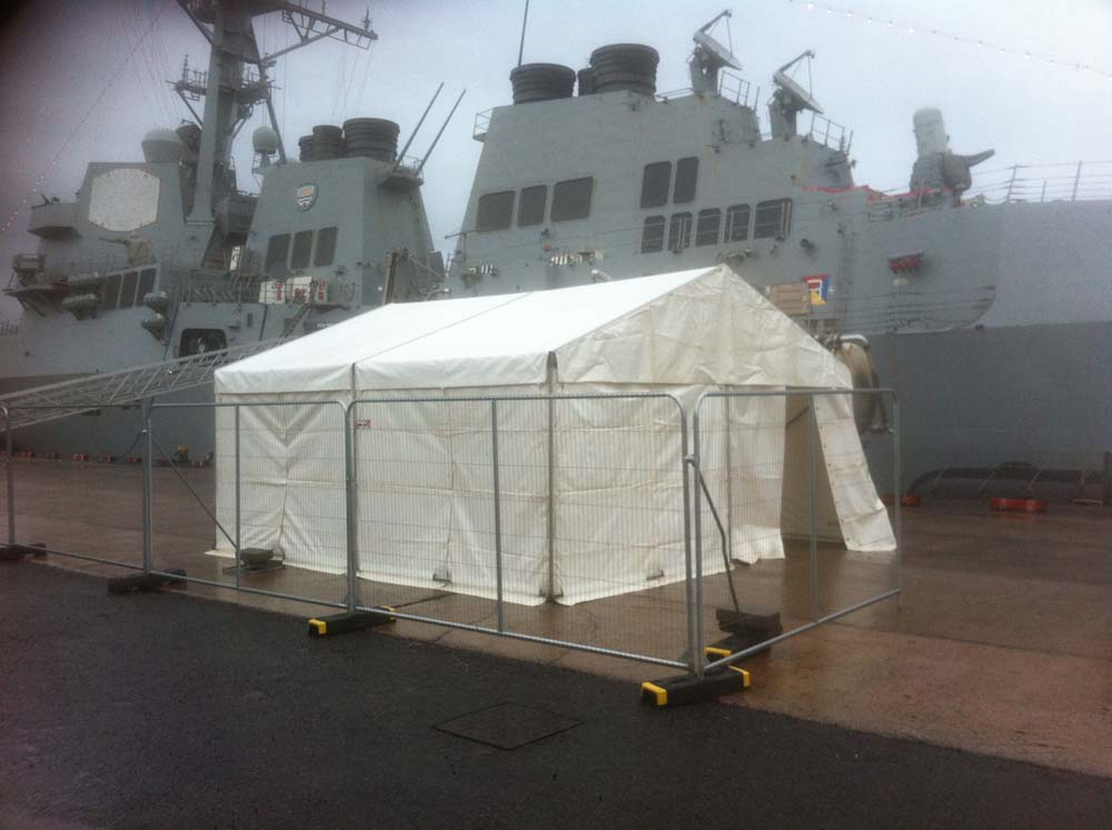 Marquee at Belfast Harbour